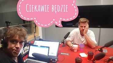 Karol Jurga i Konrad Traczyk w studio podcastowym tokfm.pl