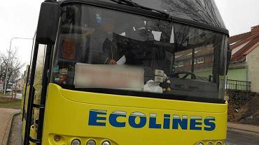 Kierowca autobusu wyprosił czarnoskórego