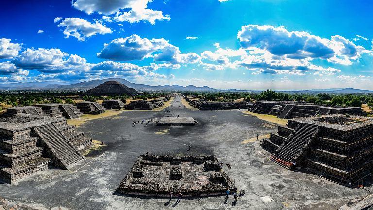 Teotihuacán: tu powstał świat