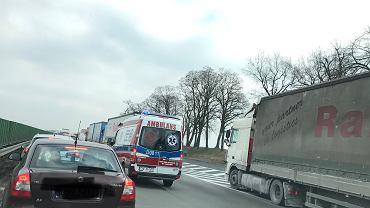 Zdjęcie z wypadku na A4