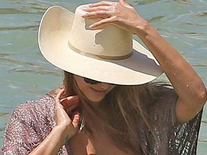 Jessica Alba na wakacjach
