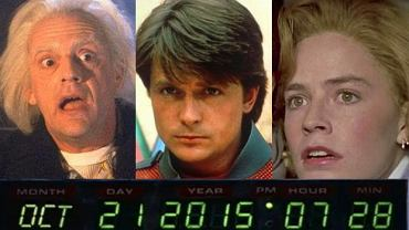 Christopher Lloyd, Michael J. Fox, Elisabeth Shue