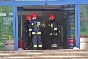 Wybuch gazu w centrum handlowym Land. Ewakuowano klient�w i pracownik�w