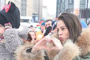 Magda Modra z córką