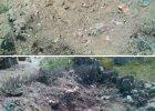 Meteoryt spad� na chi�sk� wiosk� - zrobi� dziur� w wysypisku �mieci