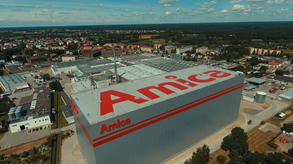 Nowy magazyn wysokiego składowania firmy Amica we Wronkach