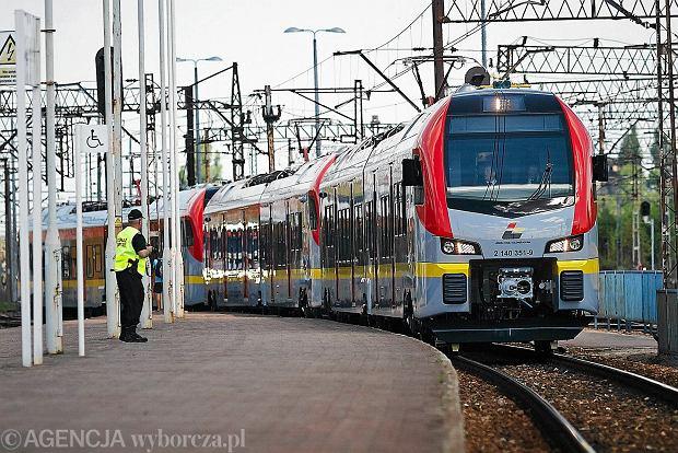 Nowy pociąg ŁKA na dworcu Łódź Kaliska