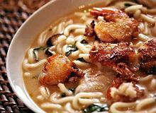 Zupa miso z krewetkami - ugotuj