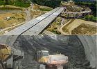 Budowa zakopianki. Imponujące widoki z drona, wydrążona jedna trzecia tunelu