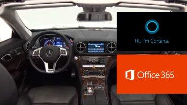 Office 365 i Cortana w samochodzie? Dlaczego nie!