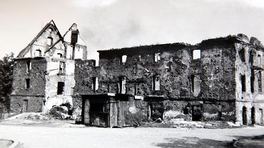 Archiwalne zdjęcia ruin młynów Św. Klary na wyspie Słodowej , Archiwum Biura Miejskiego Konserwatora Zabytków