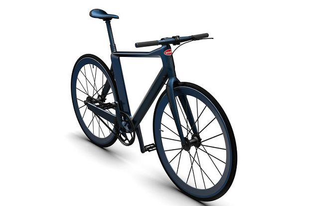 Luksusowy rower dla właściciela Bugatti Chiron
