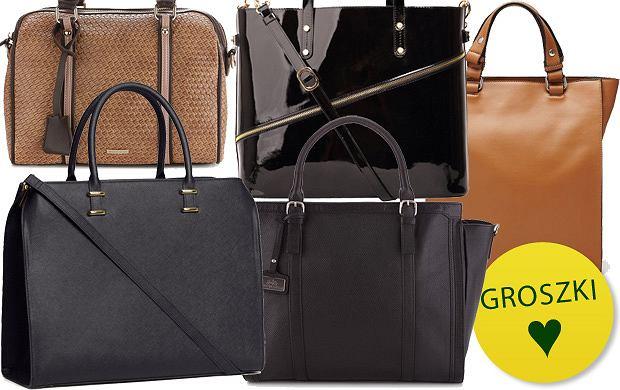 6b882f5ba165e Pakowne i eleganckie torebki do pracy