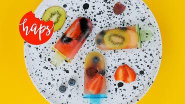 lody z owocami