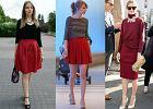 Fokus na modę: czerwona spódnica na różne okazje