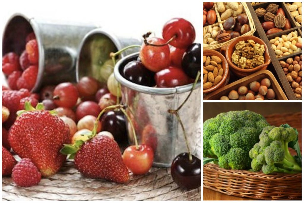 2. Owoce, warzywa, orzechy