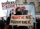 Czarny protest w Lublinie