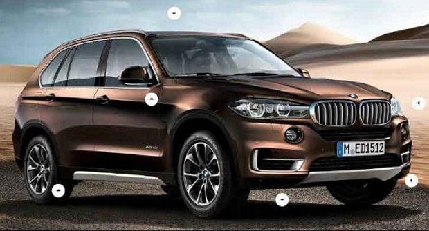 Nowe BMW X5 w Genewie?