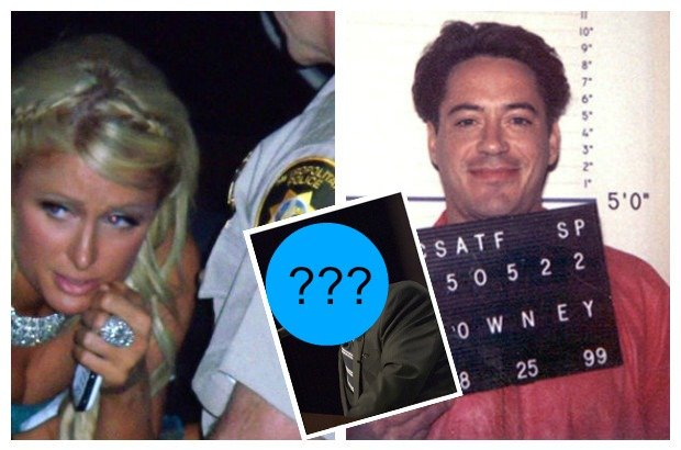 Paris Hilton, Robert Downey Jr