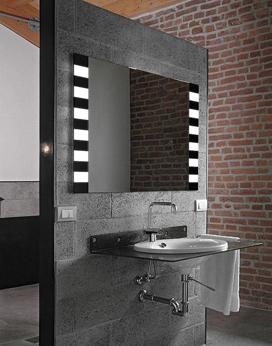 Lustro łazienkowe Zebra LED