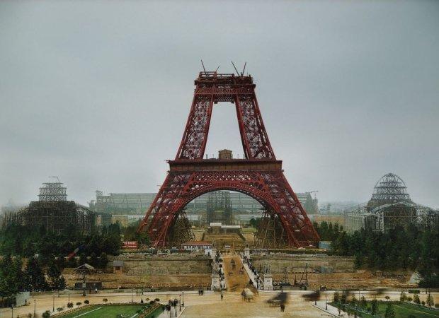 Wieża Eiffla, 1888 rok