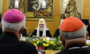 Cyryl: katolicy i prawosławni razem przeciw sekularyzacji Europy