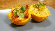 Krewetki pomara�czowe z kuskusem