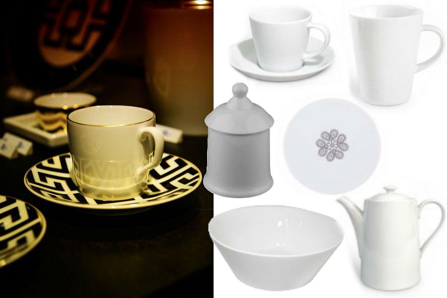 Porcelanowe dodatki do kuchni - inspiracje