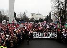 """Czarny protest na ulicach polskich miast. """"Chcemy wyboru, a nie terroru"""""""