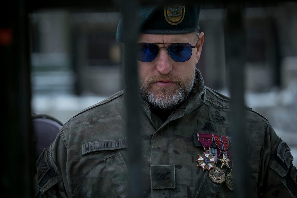 Woody Harrelson w filmie 'Wojna o Planetę Małp' (fot. materiały prasowe) / Woody Harrelson w filmie 'Wojna o Planetę Małp' (fot. materiały prasowe)