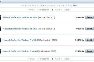 Tablety Surface Microsoftu ju� w przedsprzeda�y. 1000 dolar�w za najta�sz� wersj�...