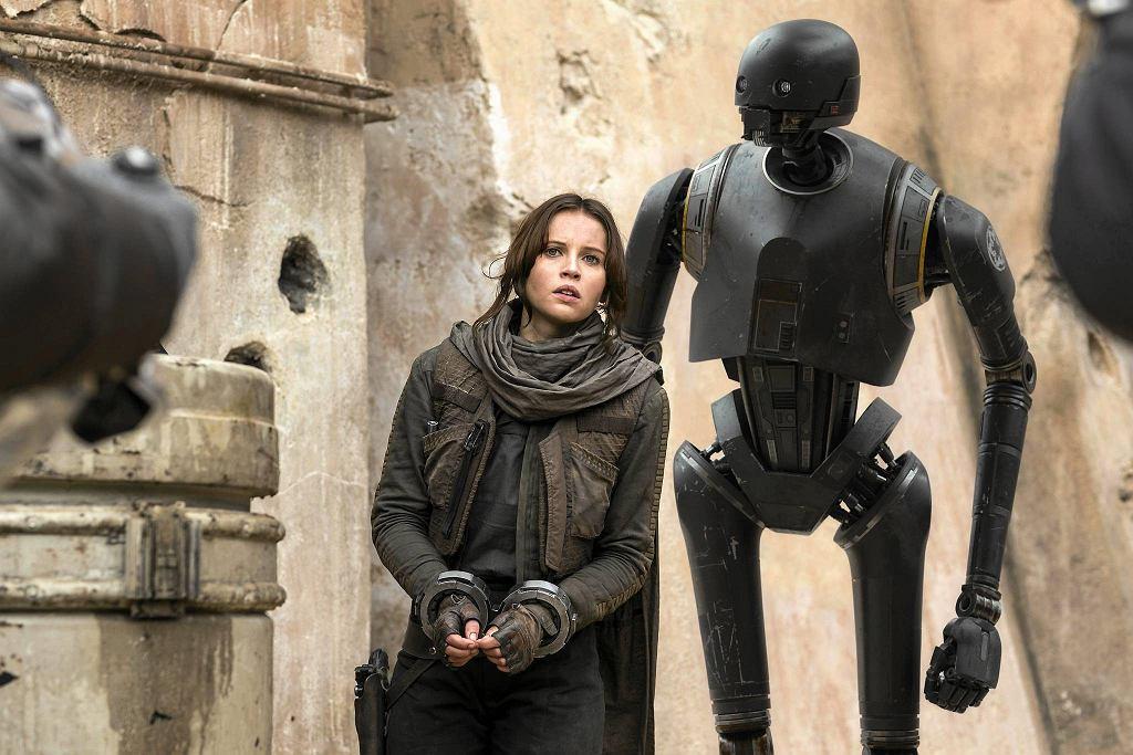 Felicity Jones jako Jyn Erso w filmie 'Łotr 1 - Gwiezdne Wojny' / NULL