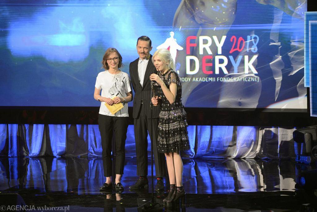 Wręczenie nagród Akademii Fonograficznej Fryderyki 2018 / Fot. Maciek Jaźwiecki / Agencja Gazeta