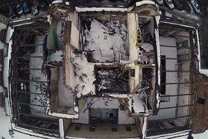 """Stary dworzec w Katowicach """"wybebeszony"""". Zdjęcia z drona pokazują rozmach przebudowy"""