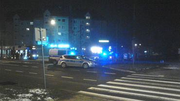 1 lutego 2017. Śmiertelny wypadek na ul. Ku Słońcu - Kwiatowa