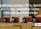 Ustawa PiS o TK niezgodna z konstytucją. Dlaczego? Helsińska Fundacja wylicza [7 PUNKTÓW]