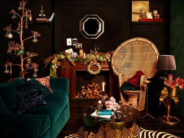 dekoracje wi teczne boho. Black Bedroom Furniture Sets. Home Design Ideas