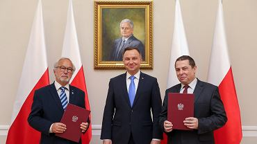 Adam Bujak i Bronisław Wildstein nowymi członkami Kapituły Orderu Orła Białego
