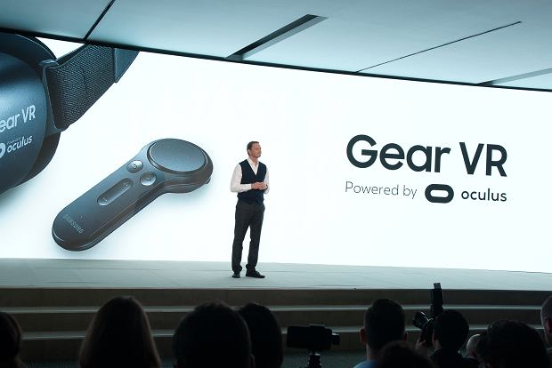 Nowe Gear VR z kontrolerem