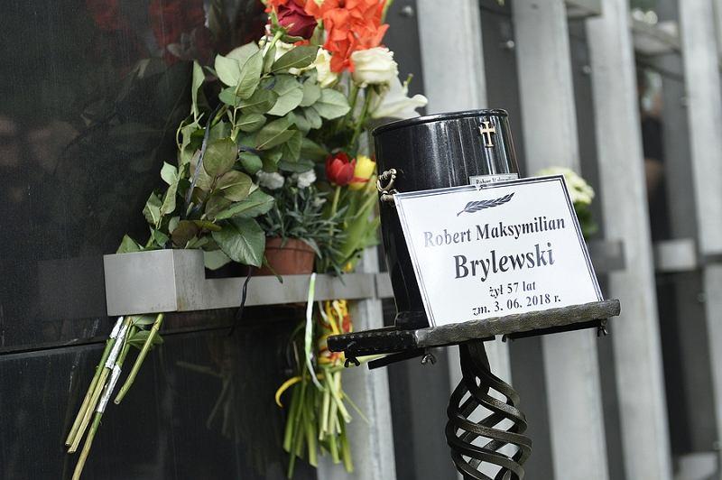 Pogrzeb Roberta Brylewskiego