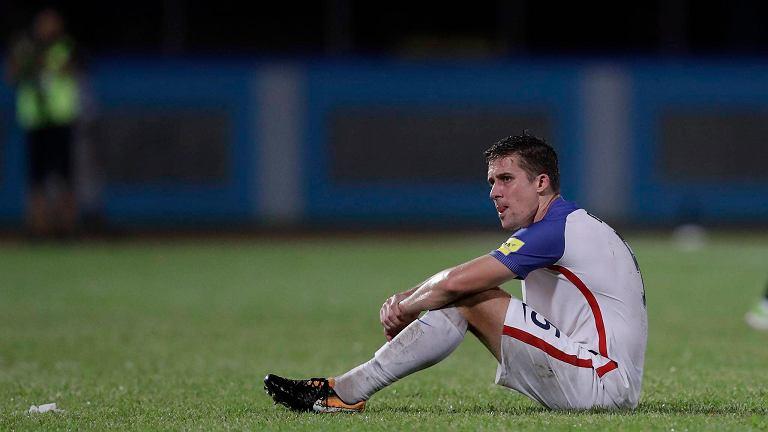 Matt Besler (USA) po porażce z Trynidadem i Tobago
