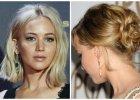 """Jennifer Lawrence: najciekawsze makijaże i fryzury gwiazdy """"Igrzysk Śmierci"""" z 2015 roku [PRZEGLĄD]"""