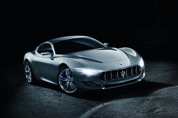 Salon Genewa 2014 | Maserati Alfieri concept | Wskazuje kierunek