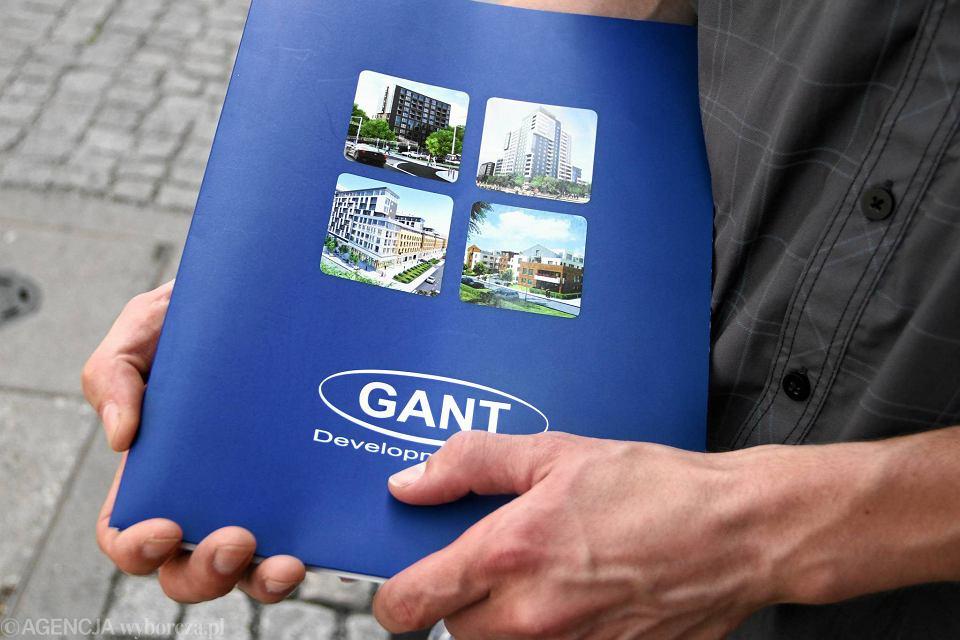 Folder reklamowy firmy Gant