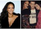 Rihanna zn�w prowokuje! Na imprez� przysz�a tylko w p�aszczu. Za to Miley Cyrus nie mia�a co na siebie w�o�y� [INSTAGRAM]