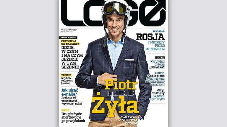 Piotr Żyła - bohater okładkowy listopadowego 'LOGO'