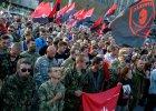 Ukraina: Wiec Prawego Sektora w Kijowie. Organizacja chce referendum ws. wotum nieufności dla władz
