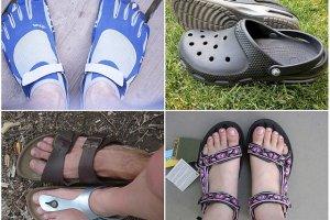 Najbrzydsze buty świata - pojedynek na wygląd [RANKING]