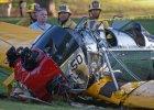 Harrison Ford ranny w wypadku lotniczym. Pilotowa� zabytkowy samolot