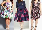 Sukienki dla puszystych z kwiatowym motywem [Moda plus size]